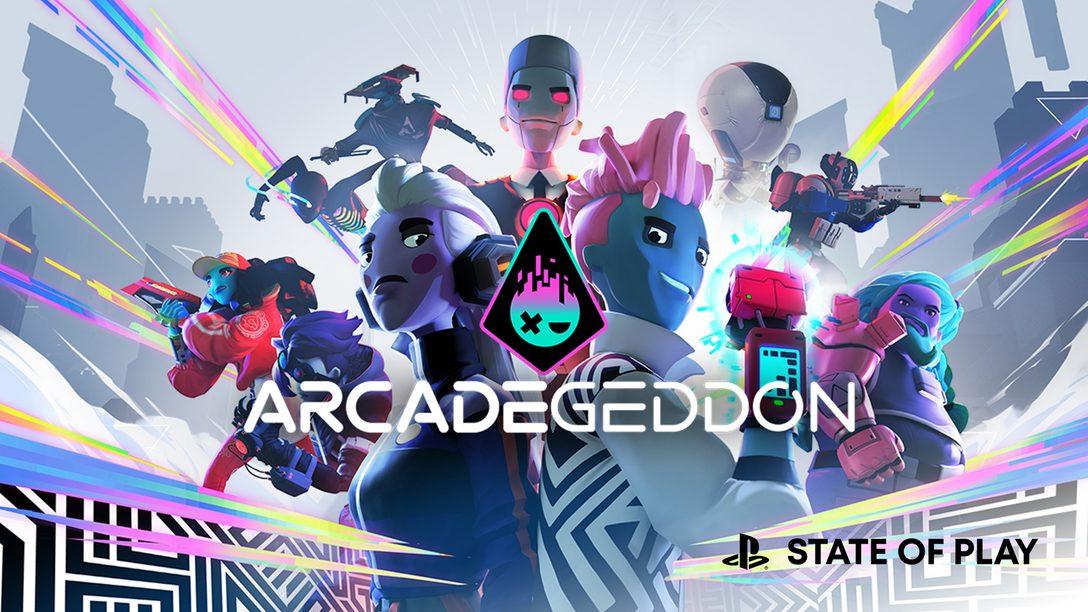 Apresentamos Arcadegeddon, disponível hoje com Acesso Antecipado