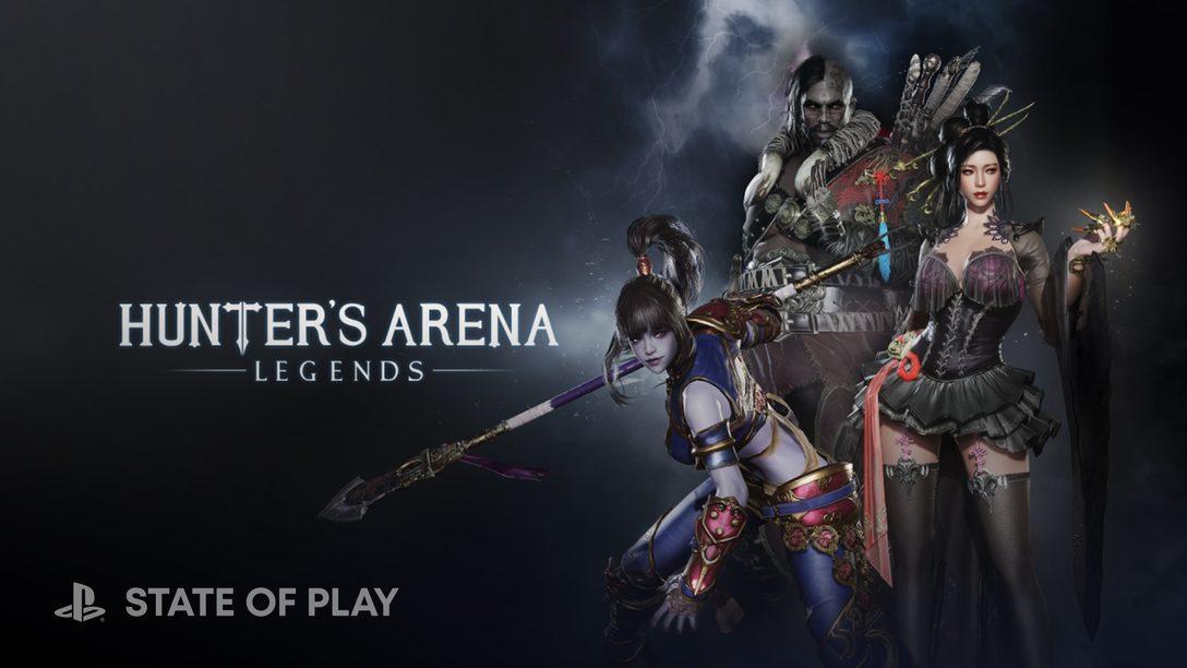 Hunter's Arena, o battle royale de 30 jogadores, chega para PS4 e PS5 em 3 de agosto