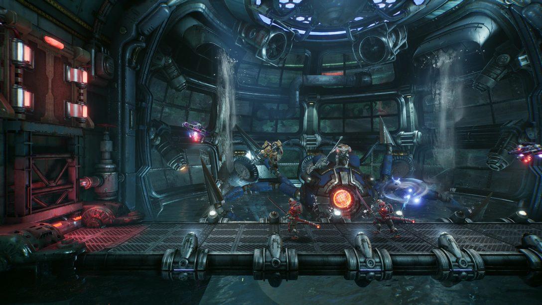 O combate estilo arcade de F.I.S.T.: Forged In Shadow Torch –  PlayStation.Blog BR