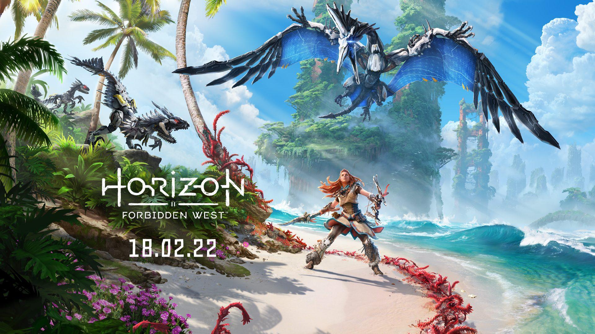 Horizon Forbidden West chega em 18 de fevereiro de 2022 – PlayStation.Blog  BR