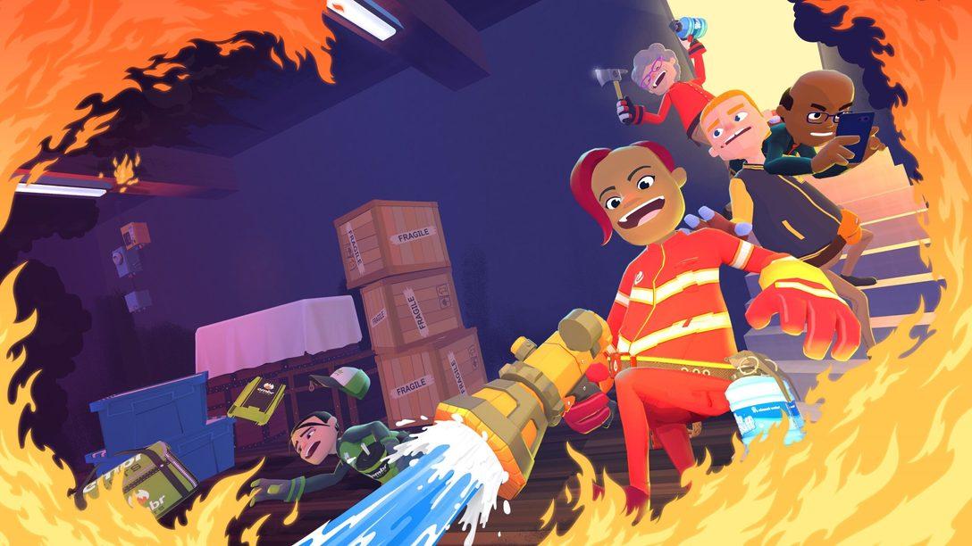 Jogue como bombeiros de aluguel no multiplayer frenético de Embr, disponível amanhã