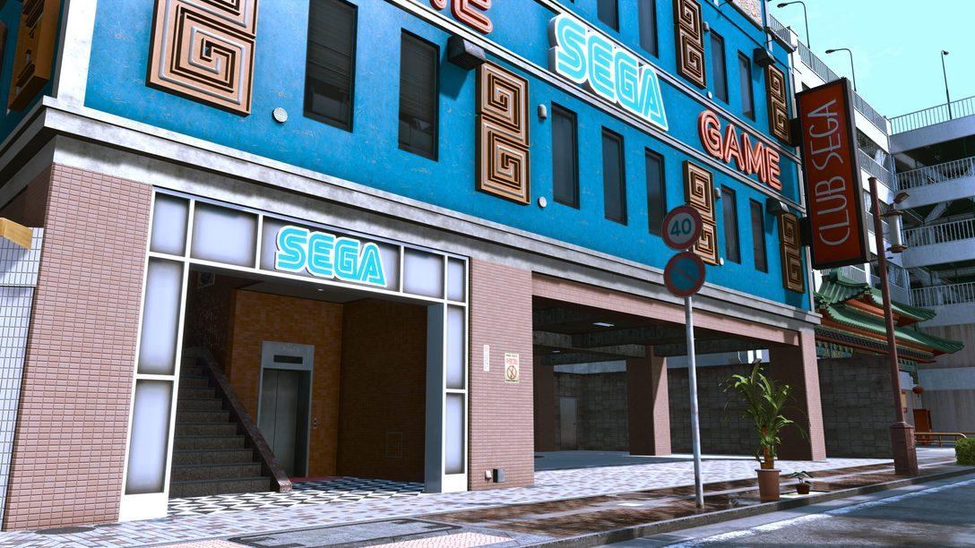 Os games clássicos da Sega em Lost Judgment
