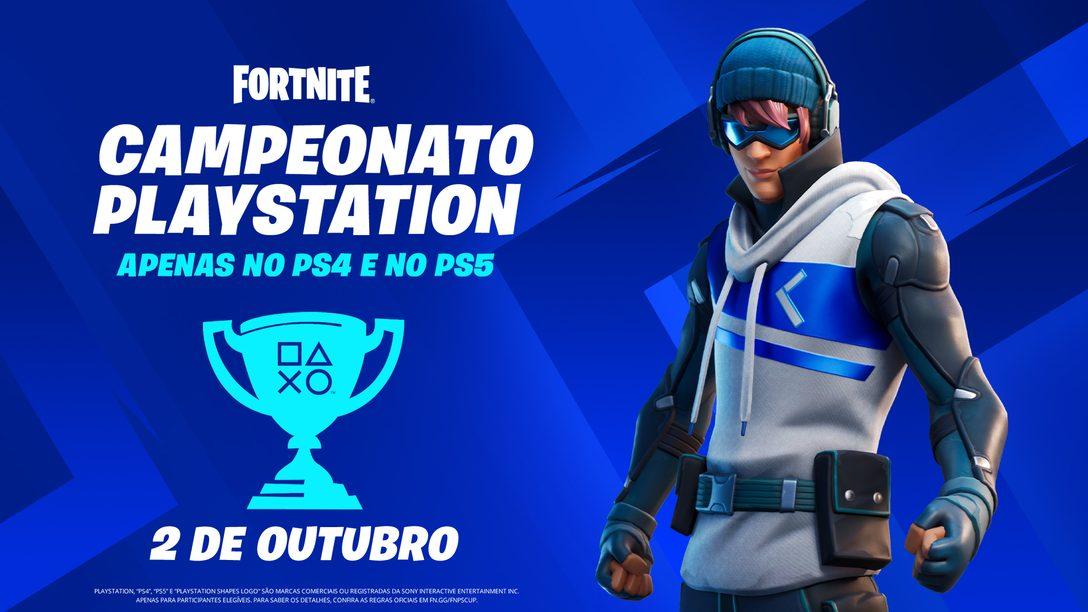 Participe do torneio Fortnite PlayStation Cup e concorra a uma parte do prêmio global de USD 110.000