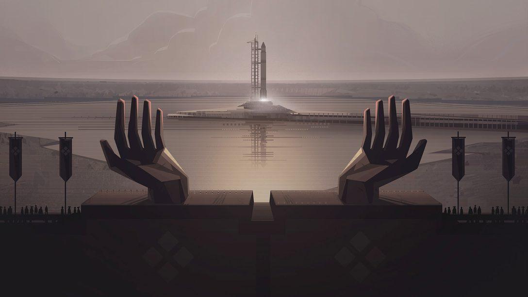 A considerável estrutura de jogo de Jett: The Far Shore, disponível amanhã