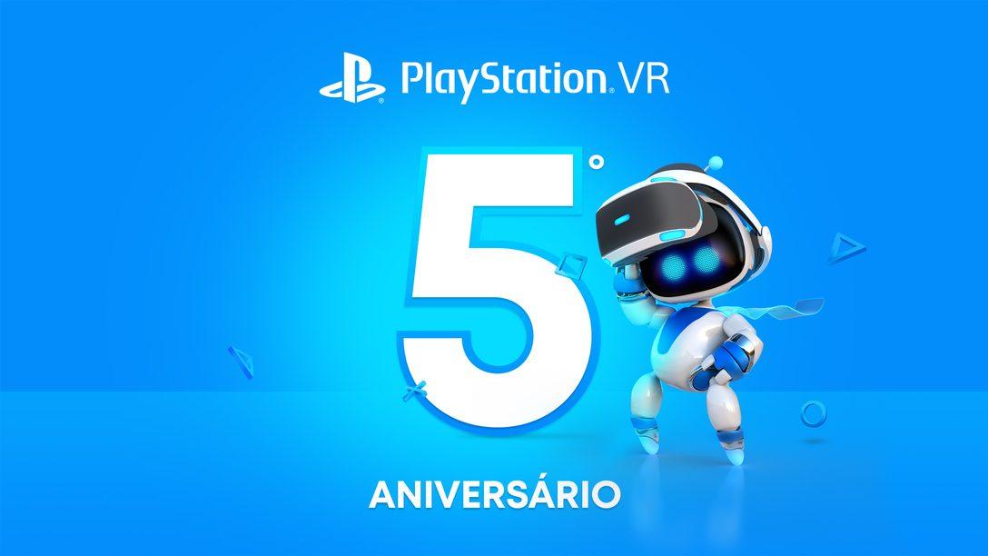 Comemoração de 5 anos de PlayStation VR