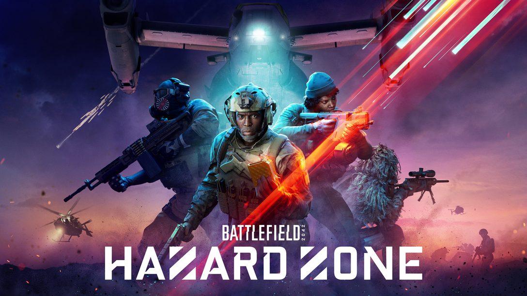 Revelamos Battlefield Hazard Zone: detalhes completos da nova experiência para PS4 e PS5