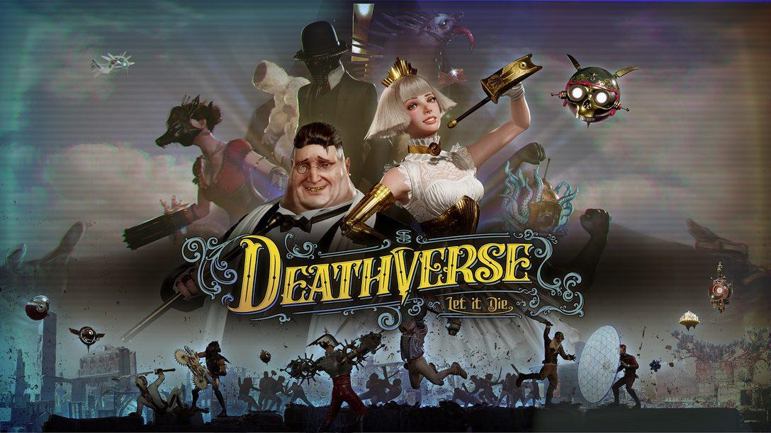 Sobreviva ao mundo brutal de Deathverse: Let It Die, disponível em 2022 para PS4 e PS5