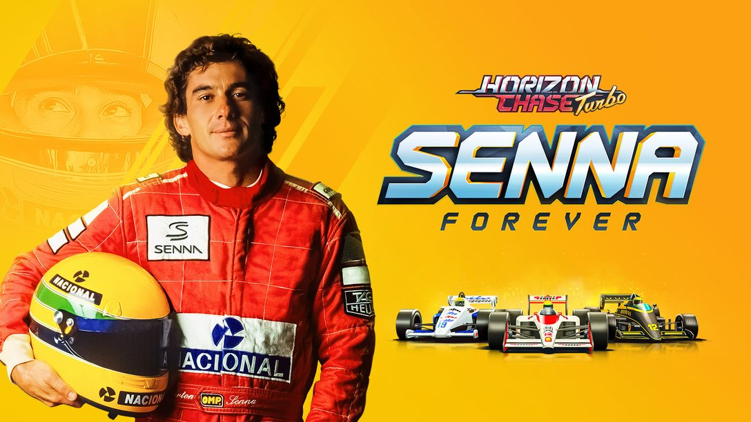 A expansão Horizon Chase Turbo: Senna Sempre chega dia 20 de outubro